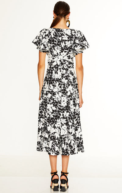 Talulah The Idol Midi Dress - Floral