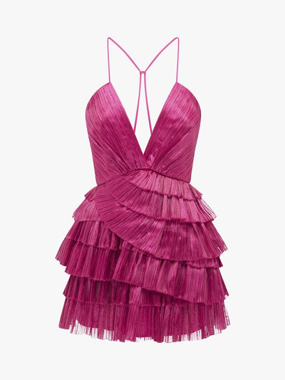 Alice McCall Don't Be Shy Dress - Fuchsia