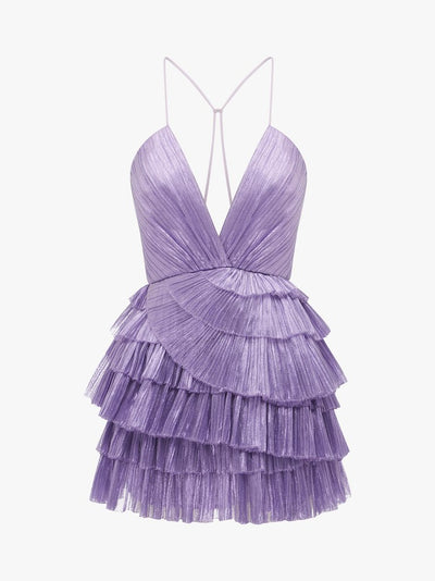 Alice McCall Don't Be Shy Dress - Lilac