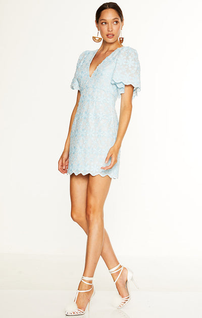 Talulah Limousine Mini Dress - Blue