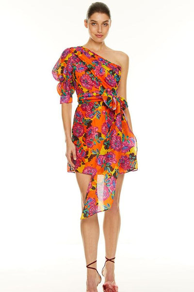 Talulah Blossom Mini Dress - Multi