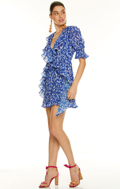 Talulah Mediterranean Minx Mini Dress - Floral