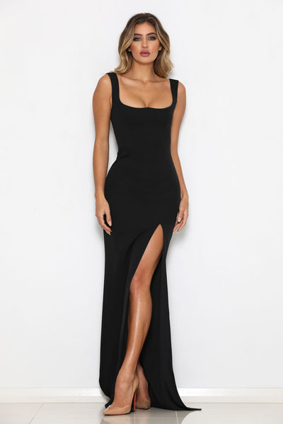 Abyss By Abby Kim Gown - Black