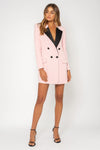 Bianca & Bridgett Lola Blazer Dress - Blush