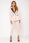 Bianca & Bridgett Paris Blazer - Blush