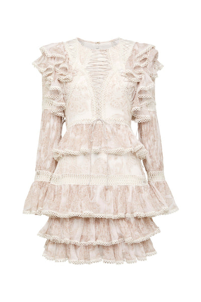 Thurley Papilio Dress - Dusty Pink