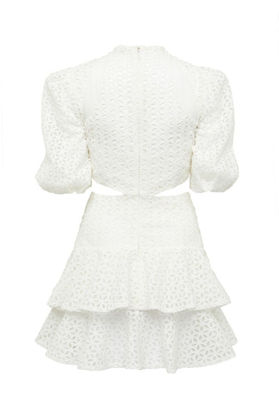 Thurley Miranda Dress - White