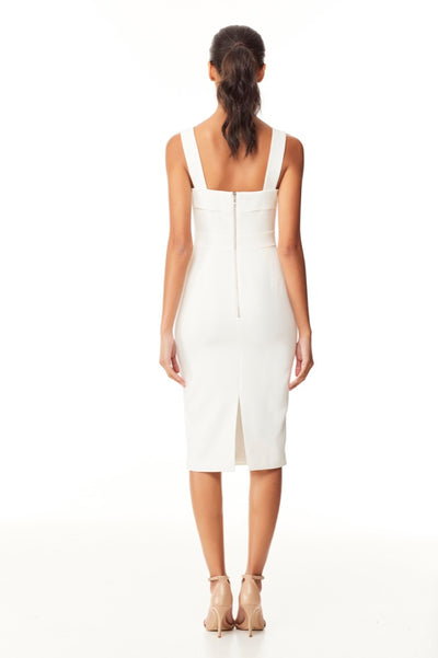 Reign Cartel Emerson Midi Dress - Ivory