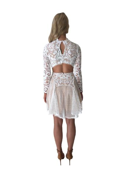 Thurley Enchanted Garden Mini Dress - Ivory