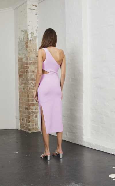 Bec & Bridge Alessandra Asym Dress - Dark Lilac