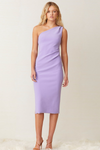 Bec & Bridge Gemma Asym Midi Dress - Violet