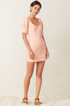 Bec & Bridge Coral Club Mini Dress - Peach