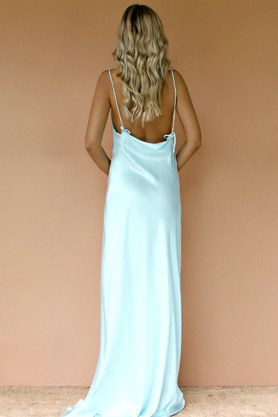 Sisters The Label Havanna Slip Gown - Crystal Sik