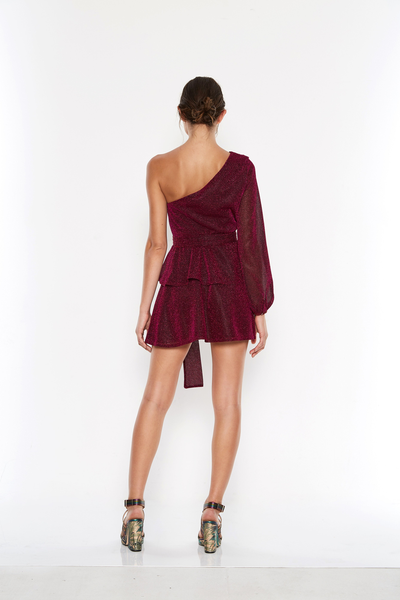 Talulah Willa Mini Dress - Berry