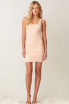 Bec & Bridge Ruby Mini Dress - Peach