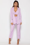 Runaway The Label Need Want Blazer - Lilac