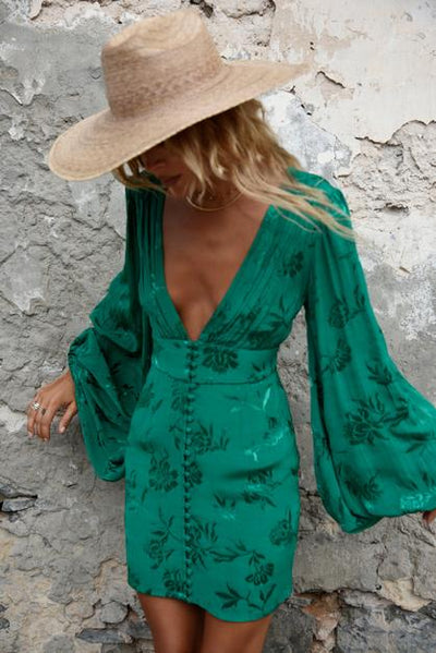 Rat & Boa Isabella Dress - Green