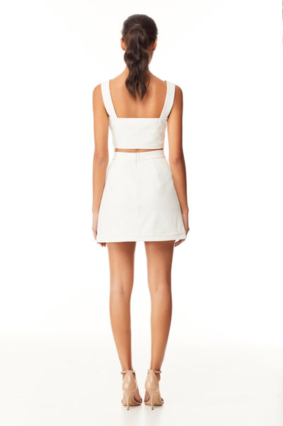 Reign Cartel Nissa Mini Skirt - Ivory