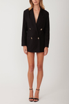 Torannce Oversized Blazer Dress - Black