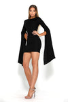Portia & Scarlett Anna Short Dress - Black