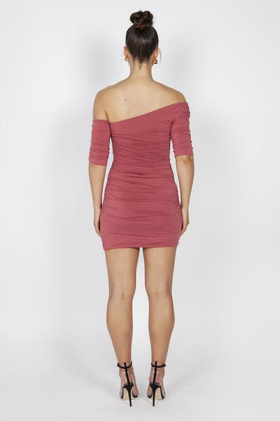 Reign Cartel Kiki Mini Dress - Marsala
