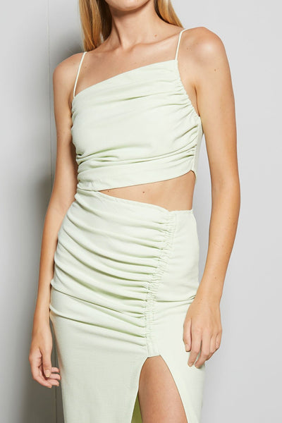 Bec & Bridge Sofie Midi Dress - Avocado