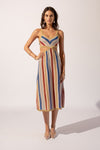 Suboo Mila Stripe Dress - Multi