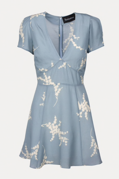 Realisation Par The Luella Dress - Summer Loving Blue