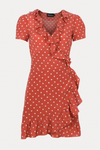 Realisation Par The Valentina Dress - Rust Spot