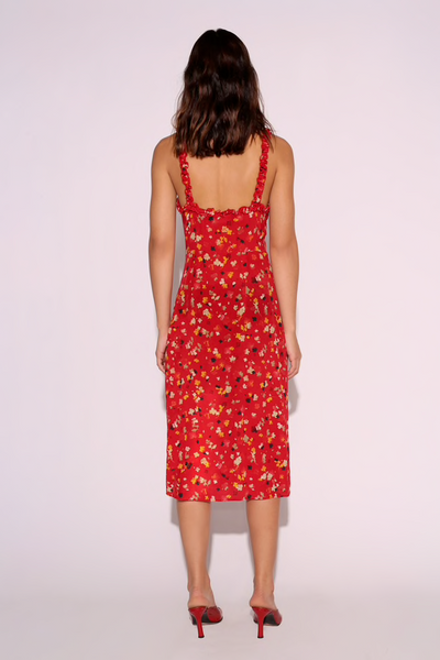 Realisation Par The Juliet Dress - Rouge Fleur