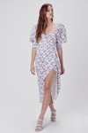 For Love & Lemons Taggart Midi Dress - Bouquet