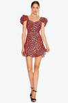 Talulah Party Animal Mini Dress - Pink Animal