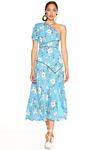 Talulah Cannes Midi Dress - Blue Valentine