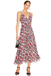 Talulah Party Roseto Midi Dress - Roseto Floral