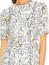 Talulah Splice Mini Dress - Aster Floral