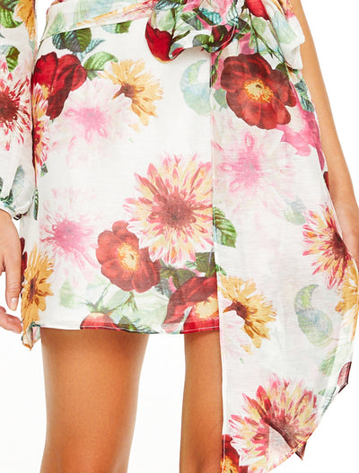 Talulah Garland Mini Dress - Floral