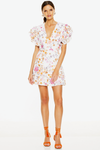 Talulah Jasmine Vines Mini Dress - Jasmine