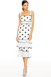 Talulah Whimsical Midi Dress - Daisy Spot