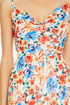 Talulah Merengue Midi Dress - Tropicana