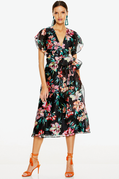 Talulah Cabana Nights Midi Dress - Cabana
