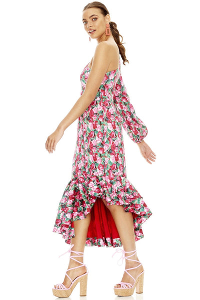 Talulah The Heart Of Life Midi Dress - Tilly Tulip