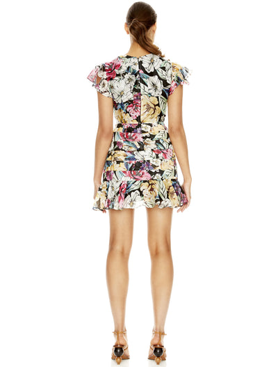 Talulah Alive Mini Dress - Print