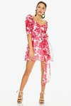 Talulah Martini Mini Dress - Raspberry Martini