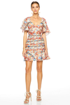 Talulah Carnevale Mini Dress - Soiree Print