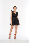 Talulah Feminino Mini Dress - Black