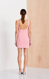Bec & Bridge Hibiscus Islands Square Mini Dress - Flamingo