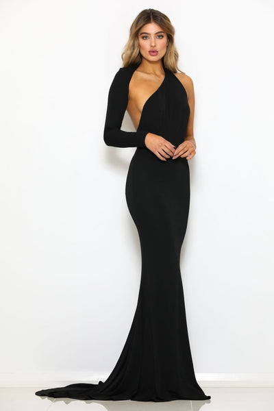 Abyss By Abby 4th Ave Gown - Black