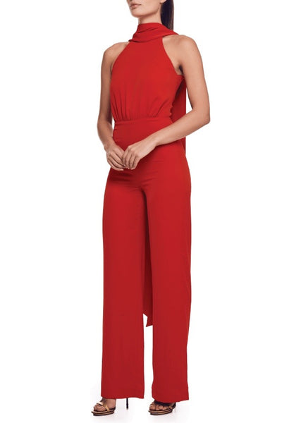 Bianca & Bridgett Scarlet Jumpsuit - Red
