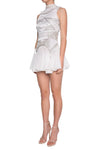 Madame X Stella Dress - Blush/Silver