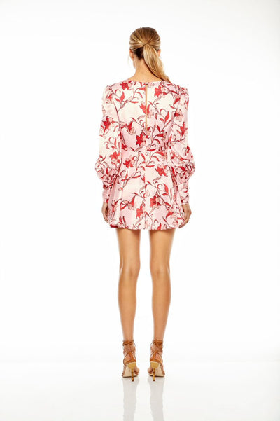 Talulah Waltzing Mini Dress - Multi